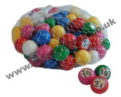 NUMBERED BALLS 1-90, 1-100, 101-200 OR 201-300